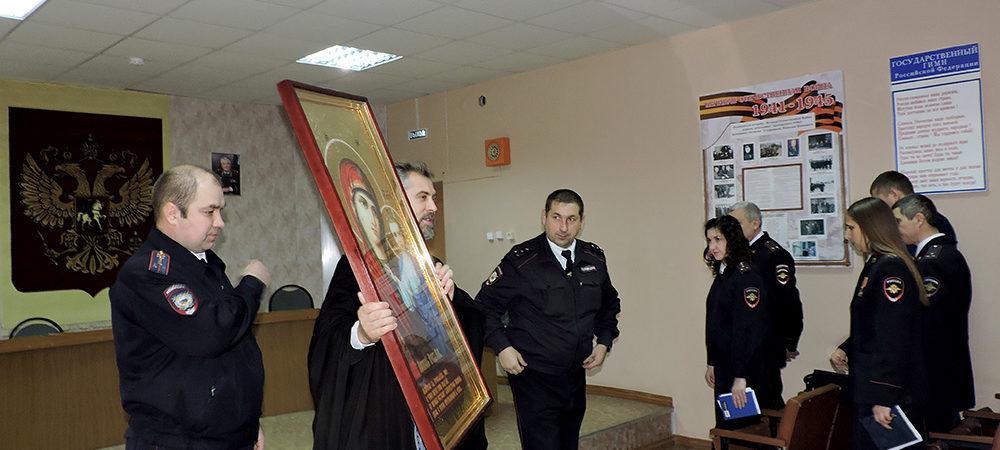 Представитель благочиния принял участие в торжествах, посвященных 100-летию образования органов внутренних дел
