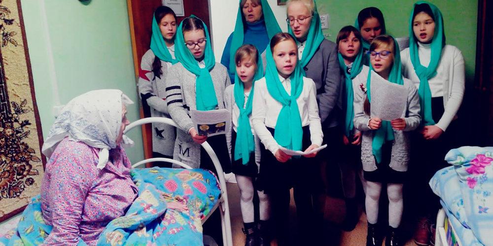 Представители благочиния посетили Коваксинский дом престарелых и инвалидов