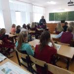 Священнослужитель встретился с учащимися Хватовской школы