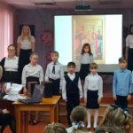 Воскресная школа выступила в Новоселках с композицией «Возвращение храмов из небытия»